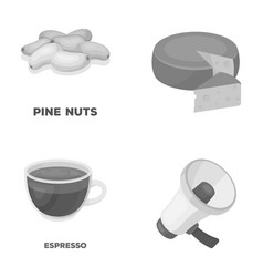Product drink and other monochrome icon in vector