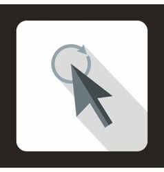 Replacement cursor icon flat style vector image vector image