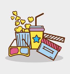 short film cinematography production studio vector image vector image