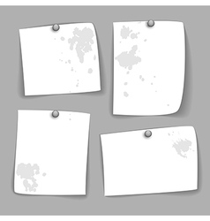 Dirty paper design vector
