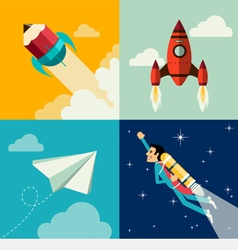 Growth and development and launch a innovation vector