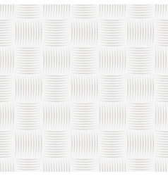 White knitted texture - seamless vector