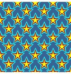 Star geometric seamless pattern 6107 vector image