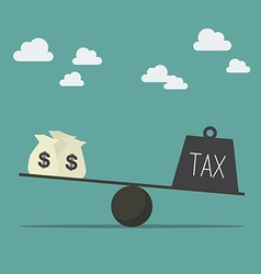 Balancing with income and tax vector