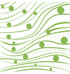 greenery background abstract geometrical vector image vector image