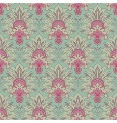 Vintage victorian seamless background vector image vector image
