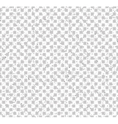 A mottled pattern with small gray squares vector