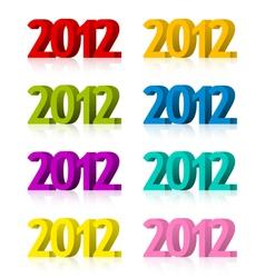 2012 symbols vector