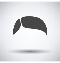 Mens hairstyle icon vector