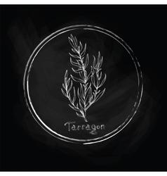 Dark tarragon vector