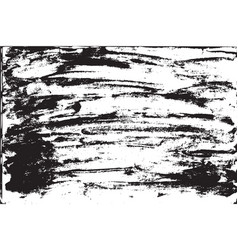 Grunge background brush strokes of black paint vector