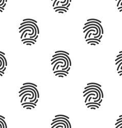 Fingerprint seamless pattern vector