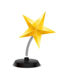 Star souvenir vector