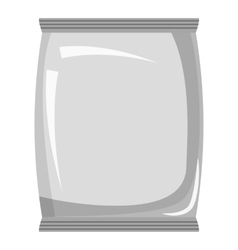 Packaging icon gray monochrome style vector