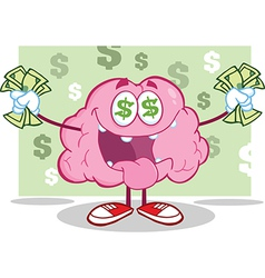 Greedy brain with money vector