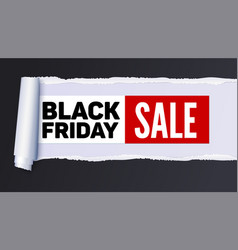 Black friday sale action banner poster sellings vector