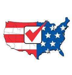 America election map vector