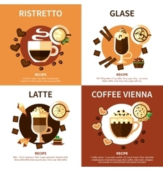 Coffee 2x2 Design Concept vector image