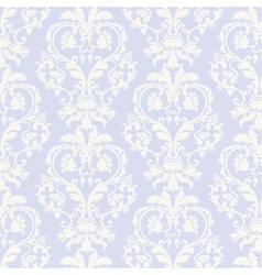 floral damask baroque ornament pattern vector image