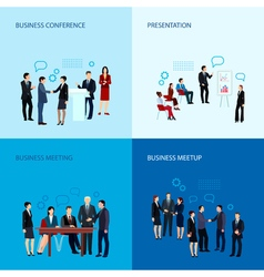 Meeting And Conference Concept vector image vector image