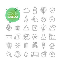 Sipmple icons collection web and mobile app vector