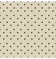 Dotted lacy seamless pattern vector