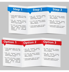 Brochure Templates vector image