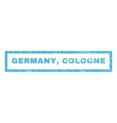 Germany Cologne Rubber Stamp vector image vector image