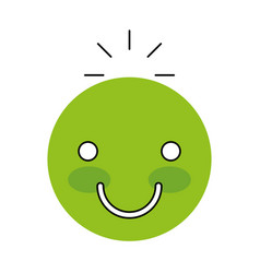 Happy face emogy icon vector