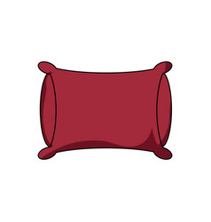 pillow icon image vector image