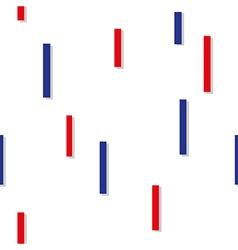 Red blue square abstract white background vector