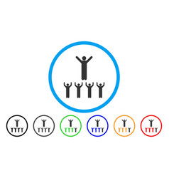 Religion guru rounded icon vector