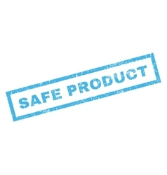 Safe Product Rubber Stamp vector image vector image