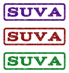 Suva watermark stamp vector