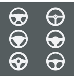 Handlebars icons for cars vector