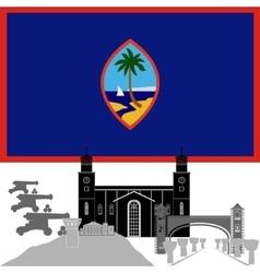 Guam vector image