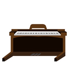 Isolated musical instrument vector image