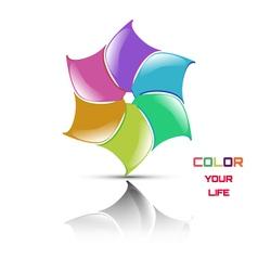 Logo flower vector image vector image