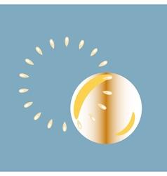 Monochrome icon set with bubble blower vector