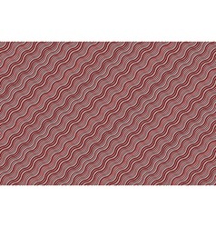 Red hypnotic wave seamless background vector image