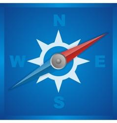 kompas vector image