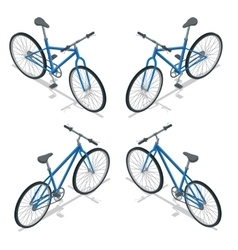 Bicycle isometric  new bicycle vector