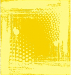 Yellow structure vector