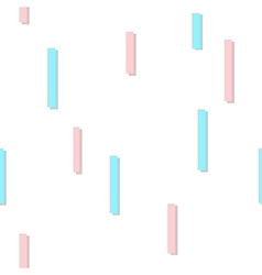 Blue pink square abstract white background vector