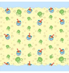 retro funky beach vector image vector image