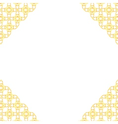 Thai art pattern background vector
