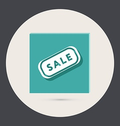 Plate sale vector
