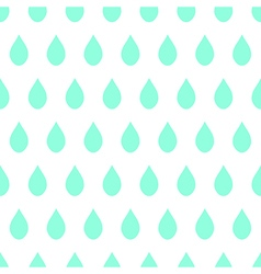 Green rain white background vector