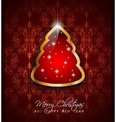elegant classic christmas vector image