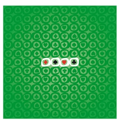 POKER pattern vector image